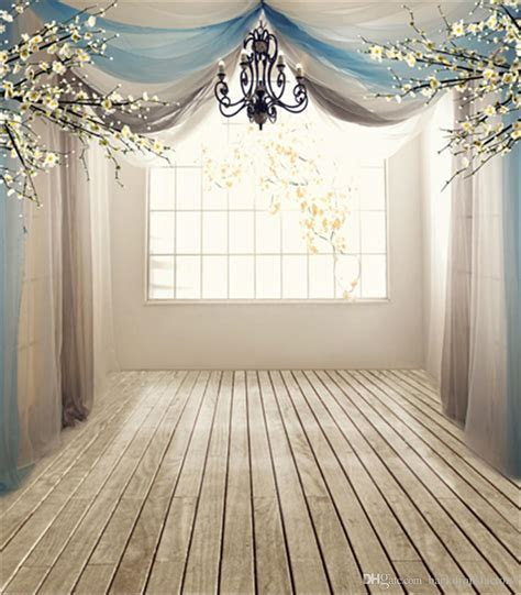 10x10ft Sunshine Lattice Window White Flowers Romantic
