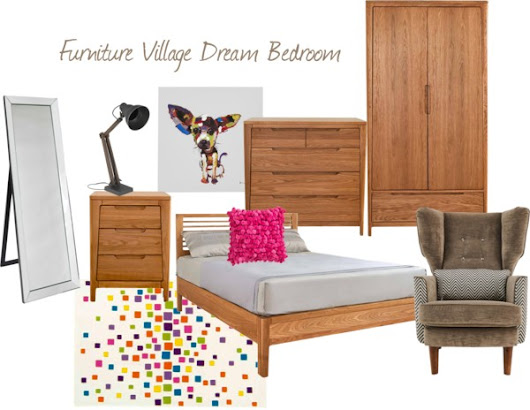 My Dream Bedroom from Furniture Village - tidy away today