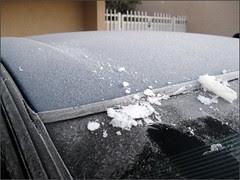 Frosty car...