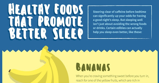 10 Healthy Foods That Makes You Sleep Like Baby