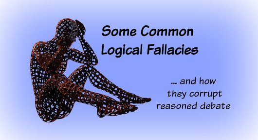 Some Common Logical Fallacies (and How They Corrupt Reasoned Debate)
