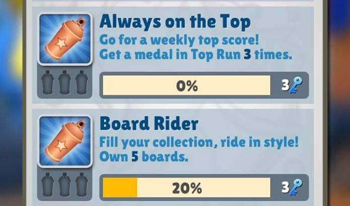 Jogue os desafios diários em Subway Surfers (Foto: Reprodução/Murilo Molina)