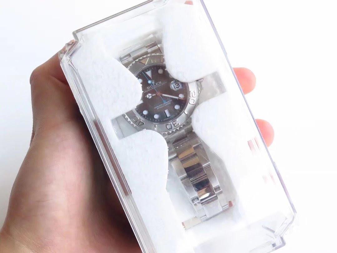 Replica Rolex YachtMaster Grey Watch