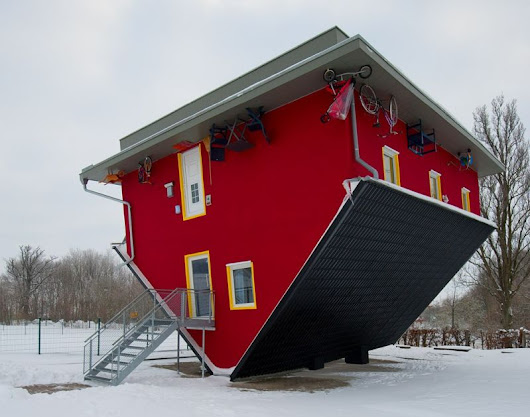 Dizzying upside down houses from around the world - HomeCrux