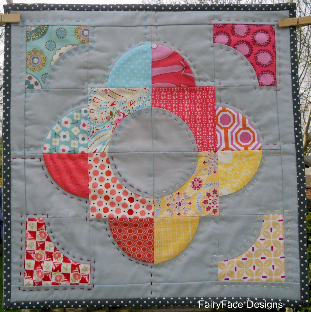 Doll quilt finished