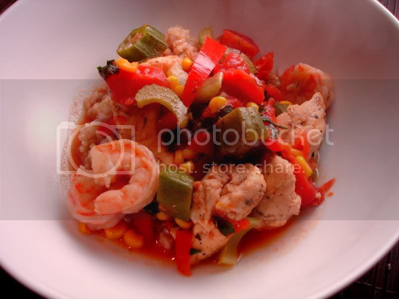 Chicken & Shrimp Creole