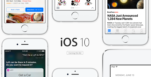 Editorial: iOS 10 is Apple's not-so-secret love letter to Android