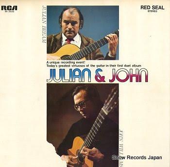 BREAM, JULIAN / JOHN WILLIAMS julian & john
