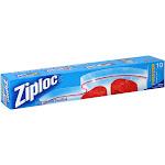 Ziploc Freezer Bags, 2 Gallon - 10 count