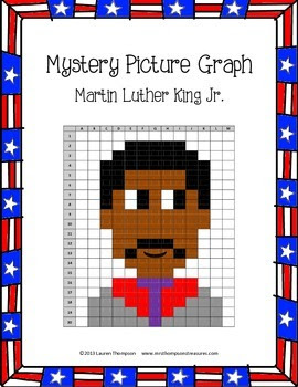 FREE Martin Luther King Jr. {Mystery Picture Graphing Activity}