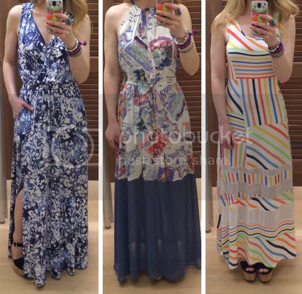 Peter Som for Kohl's maxi dresses