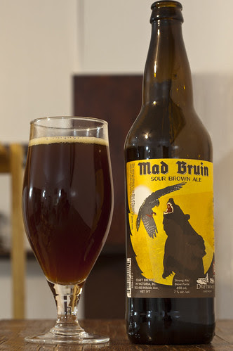 Review: Driftwood Mad Bruin Sour Brown Ale by Cody La Bière
