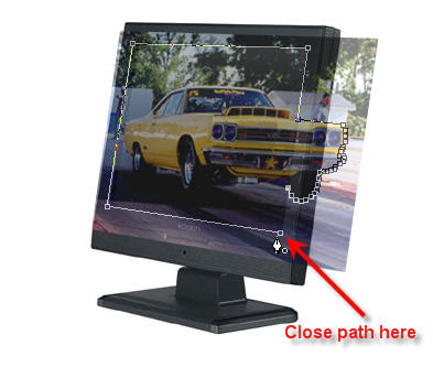 3D Computer Monitor Image image 7