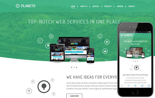 Planeto a Corporate Business Flat Bootstrap Responsive Web Template by w3layouts