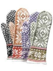 Reykjavik Mitts Knit Pattern - Electronic Download