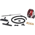 Atrix AHSC-1 Lil' Red Canister Vacuum - HEPA - Red