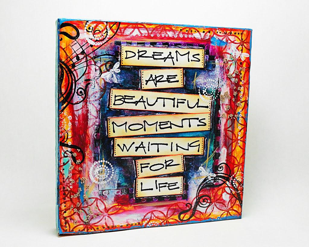 Dreams are.... (Mixed Media)