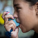 Hannah Hayes, 13, uses an inhaler and other medicines to control her asthma.