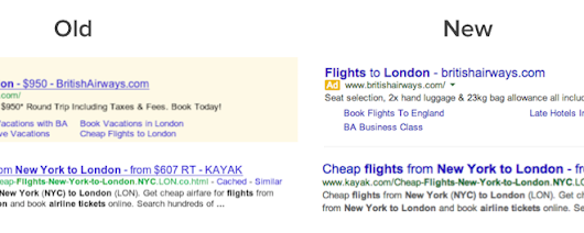 Why The New Google Search Ads Design Is a Subtle Work of Genius