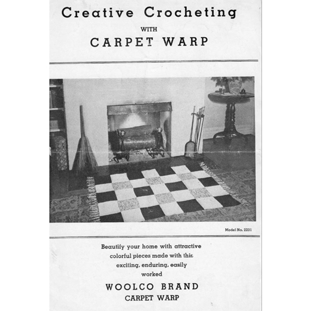 Woolco Carpet Warp for Rug Pattern Leaflet 2231