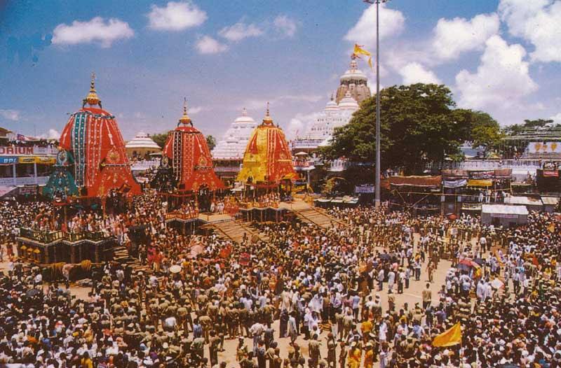 Lord Jagannath Temple - Puri - Orissa