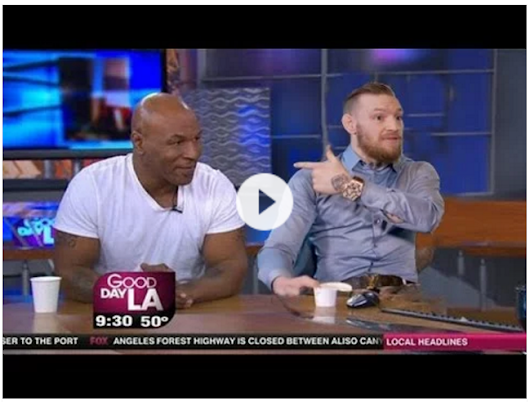 Conor McGregor: Mike Tyson is training me for a fight with Mayweather - Interview