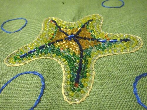 Сумка с морской звездой