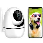 1080P Smart Home WiFi Camera, Wireless Home Security Camera, AI Human Detection, Baby Monitor, Motio