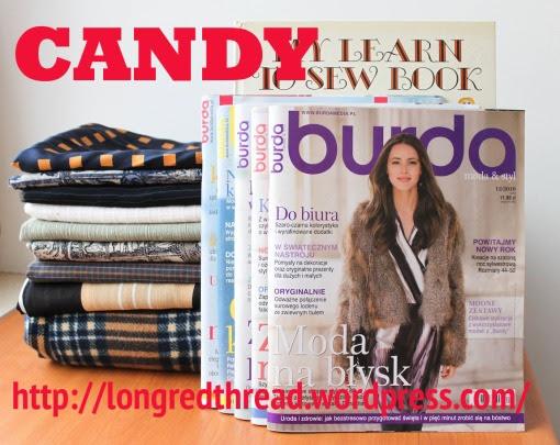 blog o szyciu, CANDY, fabrics, giveaway, handmade, konkurs, making clothes, materiały, sewing, szycie, szycie na maszynie, szycie ubrań