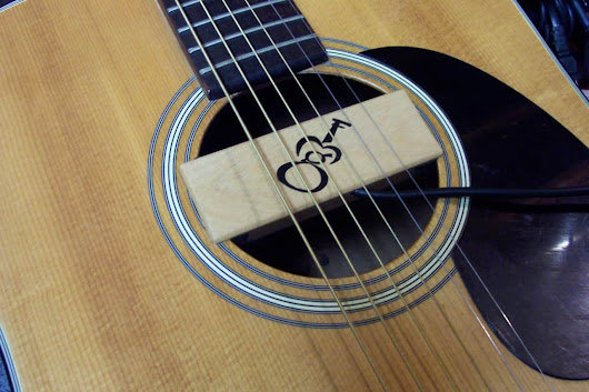 "SH-1 ""Soundhole"" Acoustic Guitar Pickup by GMF 