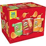 Pringles Potato Crisps Variety Pack
