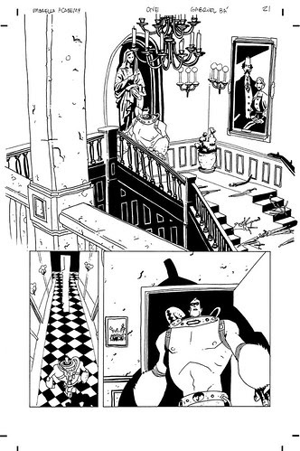 Umbrella Academy #1 page 21