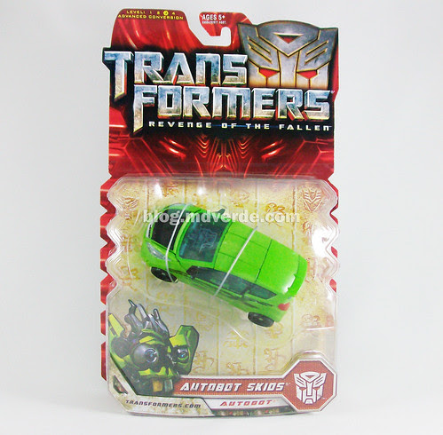 Transformers Skids RotF Deluxe - caja