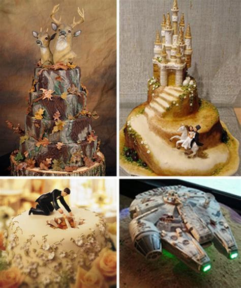 Nontraditional Wedding Cakes For The Creative Couple