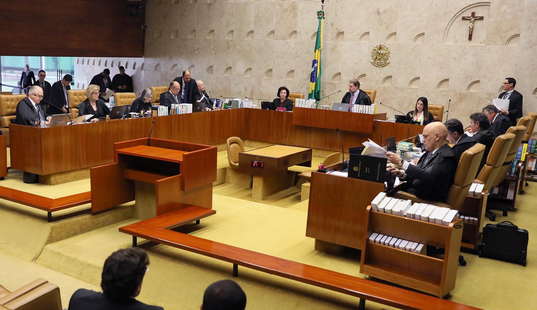 Resultado de imagem para STF mantém decisão contra libertação de condenado em segunda instância