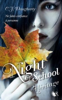 Couverture Night School, tome 2 : Héritage