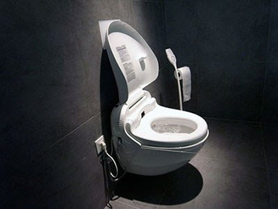Toilettes japonaises : toilettes high-tech !!