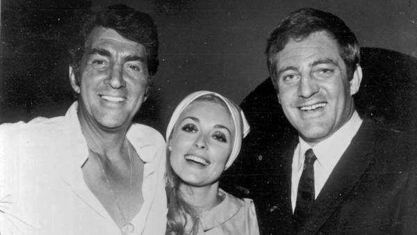 Pepper Martin with Dean Martin and Sharon Tate
