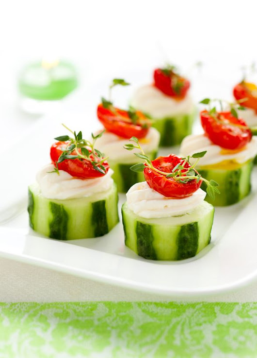 Easy Cucumber Appetizer -