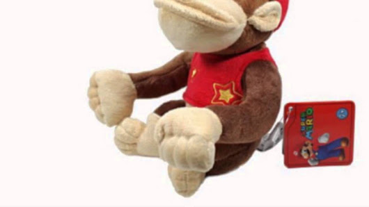 Global Holdings Super Mario Plush - 6 Diddy Kong (Toy)