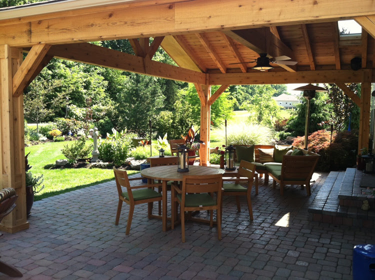 Open porches | Columbus Decks, Porches and Patios by Archadeck