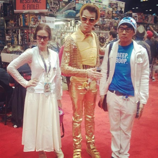 Cosplay we Love: Ultra-cool Star Wars hipsters