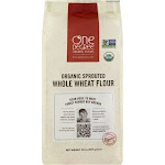 One Degree Organic Foods Flour, Whole Wheat, Organic Sprouted - 32 oz