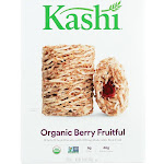 Kashi Whole Wheat Biscuits Cereal - Berry Fruitful - 15.6 Oz - Pack of 12