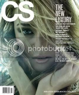 Miranda Kerr CS Magazine November 2009