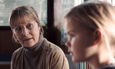 Susse Wold and Annika Wedderkopp in Thomas Vinterberg's Jagten (The Hunt).