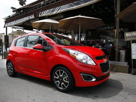 Test Drive: Low-tech Chevy Spark gets high mpg