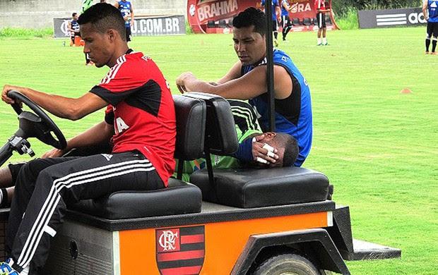 Felipe Treino Flamengo (Foto: Richard Souza)