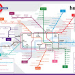 Digital Marketing Tube Map – A Guide to Internet Marketing