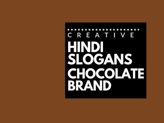 77+ Catchy Hindi Advertising slogans for a Chocolate brand